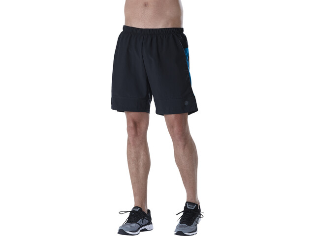 asics 7In - Pantalones cortos running Hombre - azul negro  de7d27dad082
